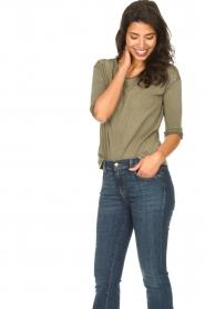 Blaumax |  Cotton T-shirt Garta | green  | Picture 3