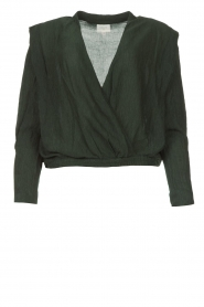 Dante 6 |  Top with crêpe effect Nyla | green  | Picture 1