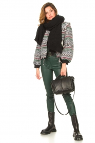 Dante 6 |  Deep V-neck top Nyla | green  | Picture 3