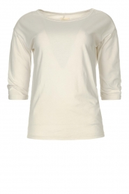 Blaumax |  Cotton T-shirt Garta | natural  | Picture 1