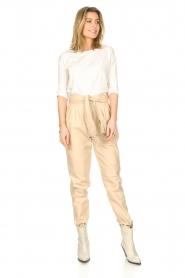Blaumax |  Cotton T-shirt Garta | natural  | Picture 3