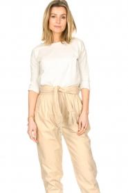 Blaumax |  Cotton T-shirt Garta | natural  | Picture 4