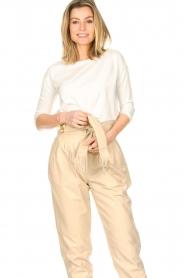 Blaumax |  Cotton T-shirt Garta | natural  | Picture 2