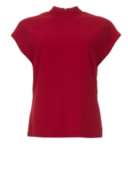 Dante 6 |  Sleeveless top Tylor | red  | Picture 1