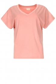 Blaumax |  Cotton T-shirt Barbados | pink