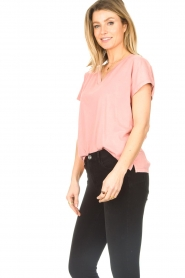 Blaumax |  Cotton T-shirt Barbados | pink  | Picture 6