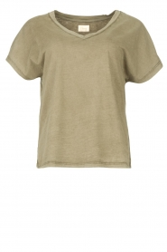 Blaumax |  Cotton T-shirt Barbados | green  | Picture 1
