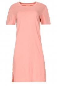 Blaumax |  Organic cotton T-shirt dress Cayman | pink  | Picture 1