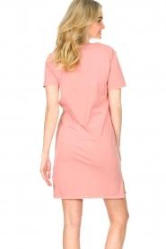 Blaumax |  Organic cotton T-shirt dress Cayman | pink  | Picture 7