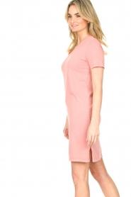Blaumax |  Organic cotton T-shirt dress Cayman | pink  | Picture 6