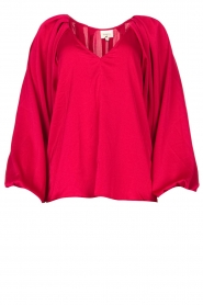 Dante 6 |  Blouse with v-neck Sue | pink  | Picture 1