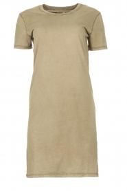 Blaumax |  Organic cotton T-shirt dress Cayman | green  | Picture 1