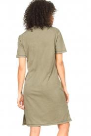 Blaumax |  Organic cotton T-shirt dress Cayman | green  | Picture 6