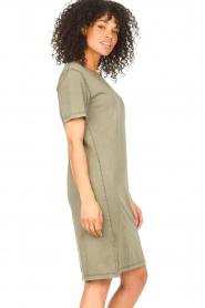 Blaumax |  Organic cotton T-shirt dress Cayman | green  | Picture 5