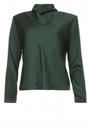 Dante 6 |  Top with shoulder pads Omber | green  | Picture 1
