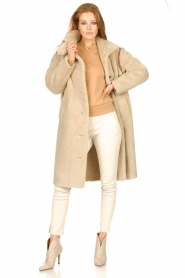 Dante 6 |  Sweater Beau | camel  | Picture 3