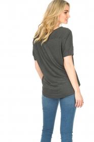 Blaumax |  Linen top Over | black  | Picture 6