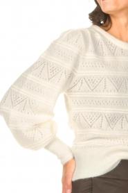 Dante 6 | Ajour sweater Valana | naturel  | Afbeelding 7