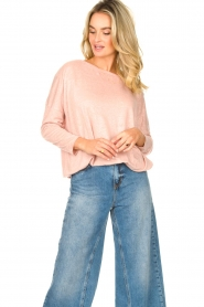 Blaumax |  Linen top Santiago | pink  | Picture 4