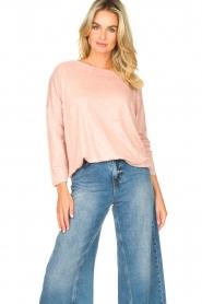 Blaumax |  Linen top Santiago | pink  | Picture 5