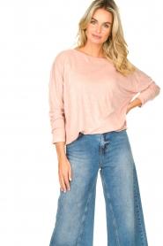Blaumax |  Linen top Santiago | pink  | Picture 2