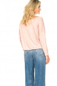 Blaumax |  Linen top Santiago | pink  | Picture 7