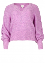 Dante 6 |  Knitted sweater Broame | purple  | Picture 1