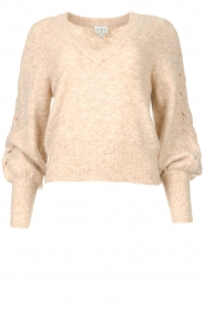 Dante 6 |  Knitted sweater Broame | beige  | Picture 1