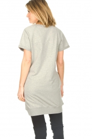 Blaumax |  Cotton sweater dress Queens | grey  | Picture 6