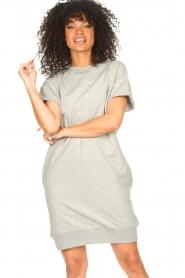 Blaumax |  Sweater dress Queens | grey  | Picture 5
