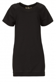 Blaumax |  Cotton sweater dress Queens | black