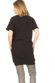 Blaumax |  Cotton sweater dress Queens | black  | Picture 7