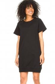 Blaumax    Cotton sweater dress Queens   black    Picture 4