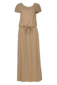 Blaumax |  Maxi dress with pockets Townsville | brown  | Picture 1