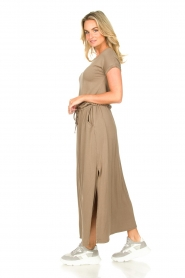 Blaumax |  Maxi dress with pockets Townsville | brown  | Picture 5