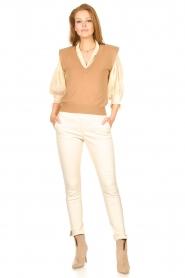 Dante 6 |  Spencer with shoulder pads Talou | camel  | Picture 3