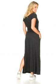 Blaumax |  Maxi dress with pockets Townsville | black  | Picture 6