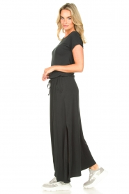 Blaumax |  Maxi dress with pockets Townsville | black  | Picture 5