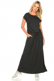 Blaumax |  Maxi dress with pockets Townsville | black  | Picture 2