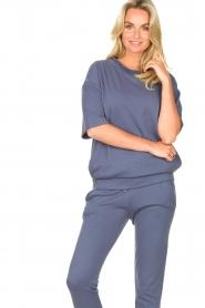 Blaumax |  Turtleneck sweater Josea | blue  | Picture 2
