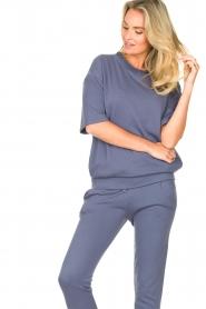 Blaumax |  Turtleneck sweater Josea | blue  | Picture 4