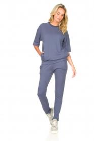 Blaumax |  Turtleneck sweater Josea | blue  | Picture 3