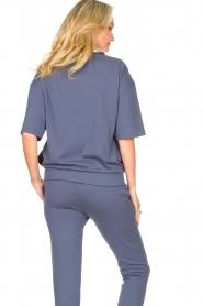 Blaumax |  Turtleneck sweater Josea | blue  | Picture 6