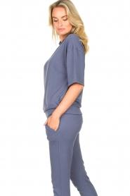 Blaumax |  Turtleneck sweater Josea | blue  | Picture 5