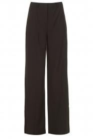 Dante 6 |  Wide leg trousers Luca | black  | Picture 1