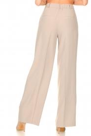 Dante 6 |  Wide leg trousers Luca | beige  | Picture 6