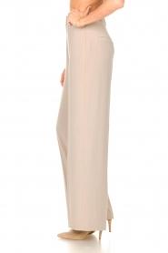 Dante 6 |  Wide leg trousers Luca | beige  | Picture 5