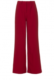 Dante 6    Wide leg trousers Luca   red    Picture 1