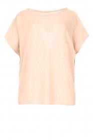 Blaumax |  Linen sweater Ivy | pink  | Picture 1