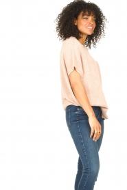 Blaumax |  Linen sweater Ivy | pink  | Picture 6